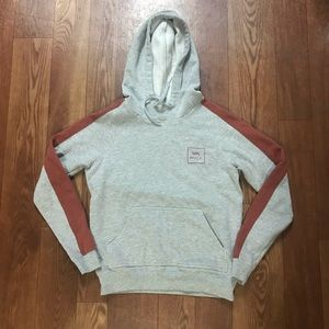 RVCA sweater pullover XS front pockets